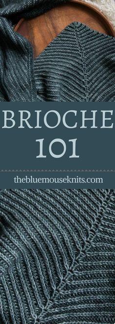 Alguma vez você já quis aprender brioche tricô? O Brioche 101 video tutor gratuito ...