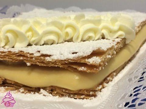 Milhoja de crema. Receta de Paco Torreblanca - YouTube