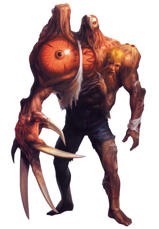 Resident Evil 2 - Dr Birkin Mutation 2