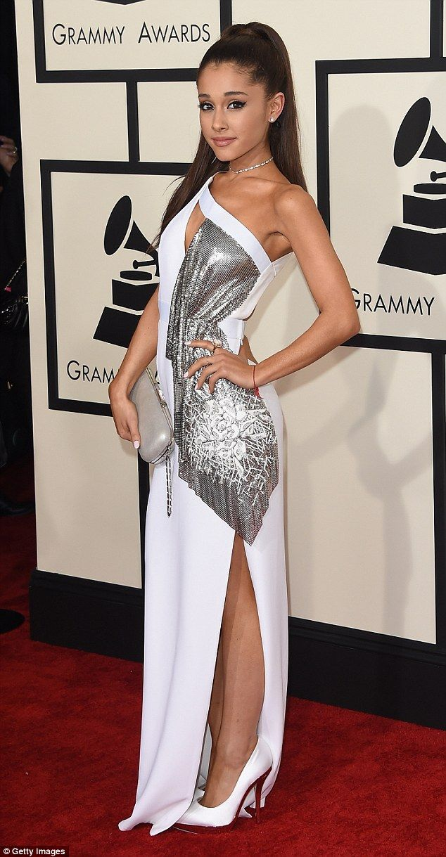 Coincidence? The 21-year-old, pictured at the Grammy Awards earlier this month, or her lab...