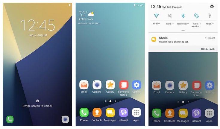 Samsung Galaxy S7 (edge) Android 7.0 Nougat Update bringt GraceUX auf die Smartphones