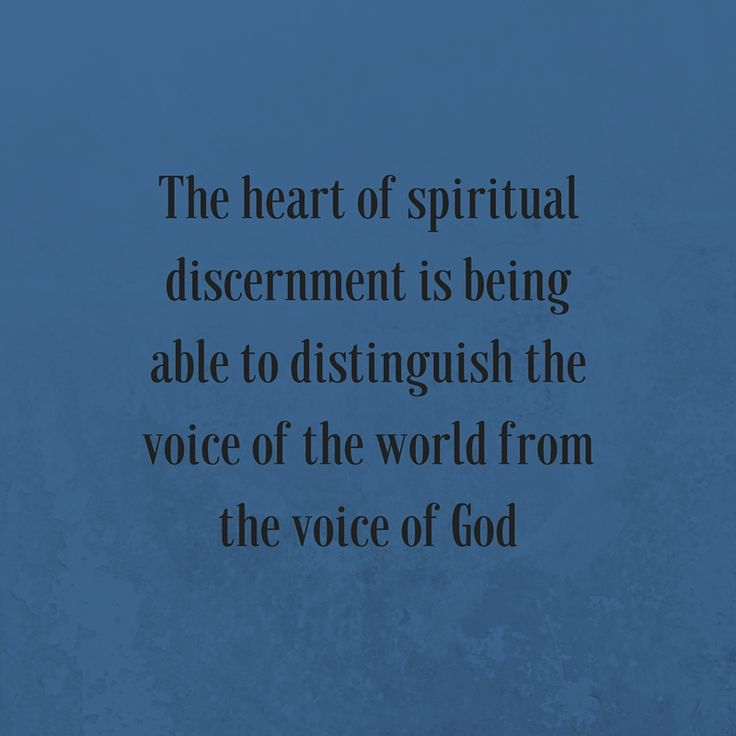 Spiritual Discernment - http://www.gotquestions.org/spiritual-discernment.html