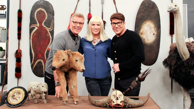 Four Rooms' Jessica Lindsay Phillips with Steven and Chris