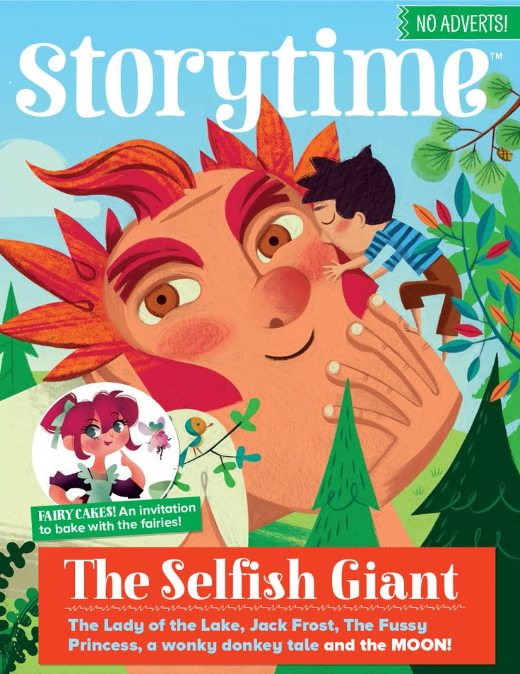 Storytime Issue 28 is here to brighten up your winter with The Selfish Giant, a reindeer story, a wonky donkey, a fussy princess, Jack Frost, fairy cakes and the Lady of the Lake! Subscribe today at WWW.STORYTIMEMAGAZINE.COM