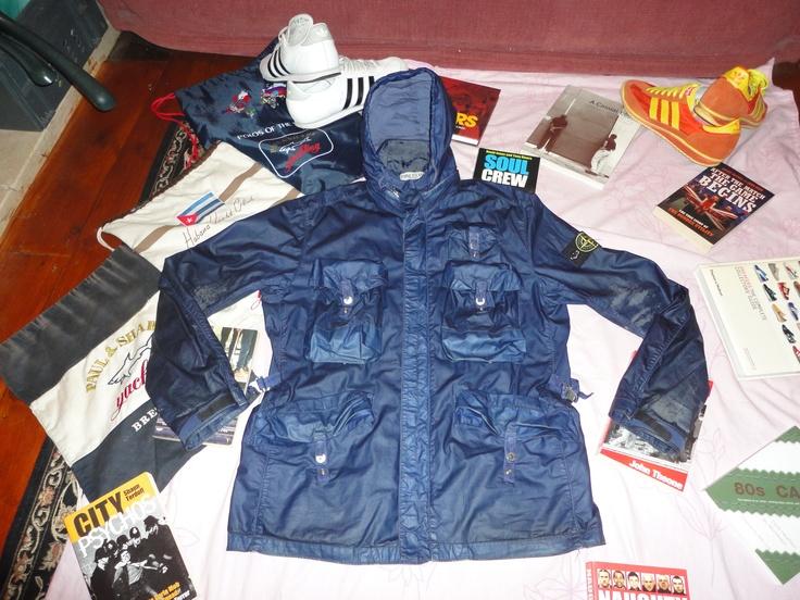Stone Island Spalmatura Jacket, sadly peeling