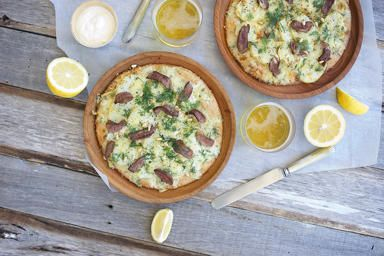 Lamb and Dill Pizza to enjoy on a lazy afternoon!
