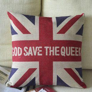 """the Union Jack"" Vintage cushion cover,seat cushion,Creative personality cushion, Home Decor on AliExpress.com. $13.99"