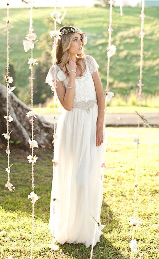 """Emme"" Vintage Lace Dress 