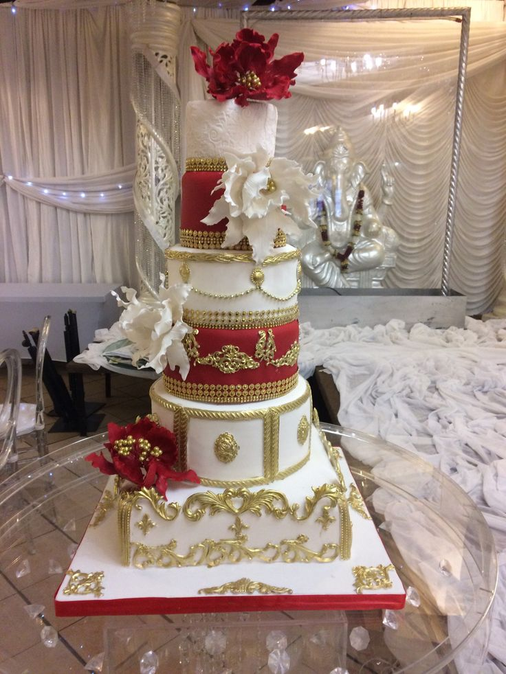 Royal Indian Wedding Cake