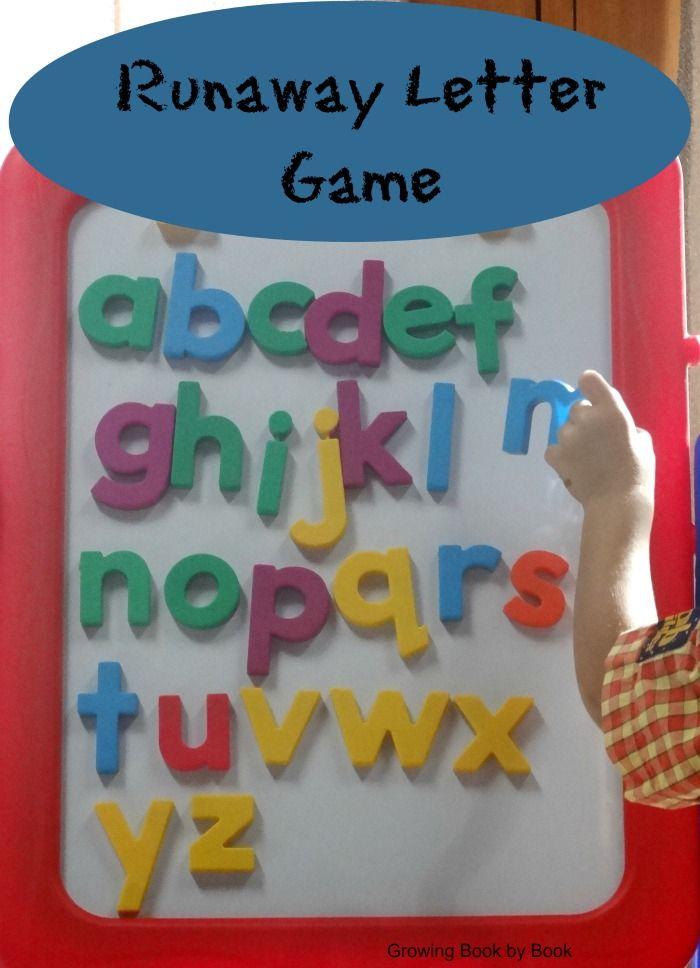 Alphabet Games Runaway Letter 224 best abcu0027s