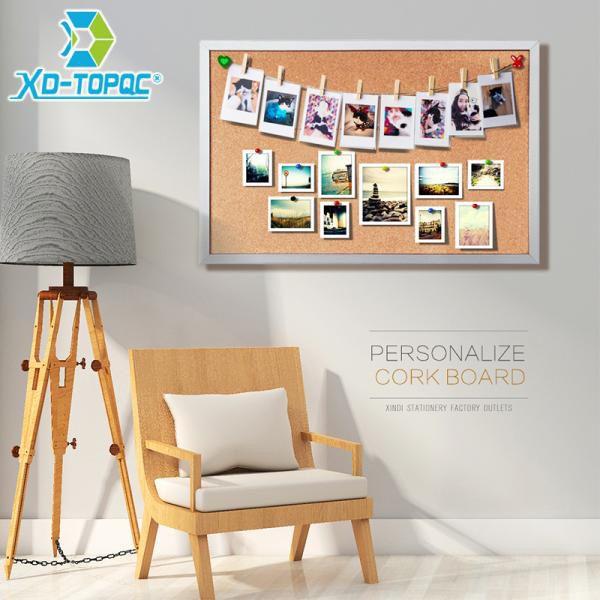 48 36 54 Off 45 60 سنتيمتر مزدوجة الجانبين لوحة الفلين خشبية إطار دفع دبوس نشرة مجلس 11 ألوان مكتب المور Cork Board Office Decor Frames Framed Cork Board