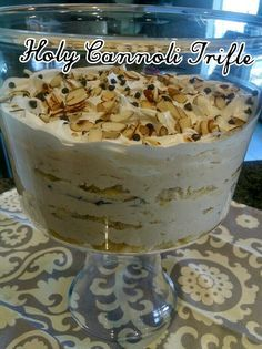 Pers~ a~Natalie: Holy Cannoli Trifle
