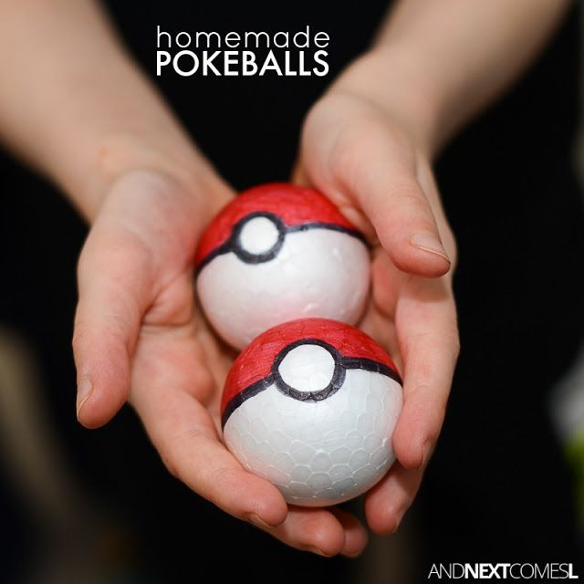 DIY Pokeballs