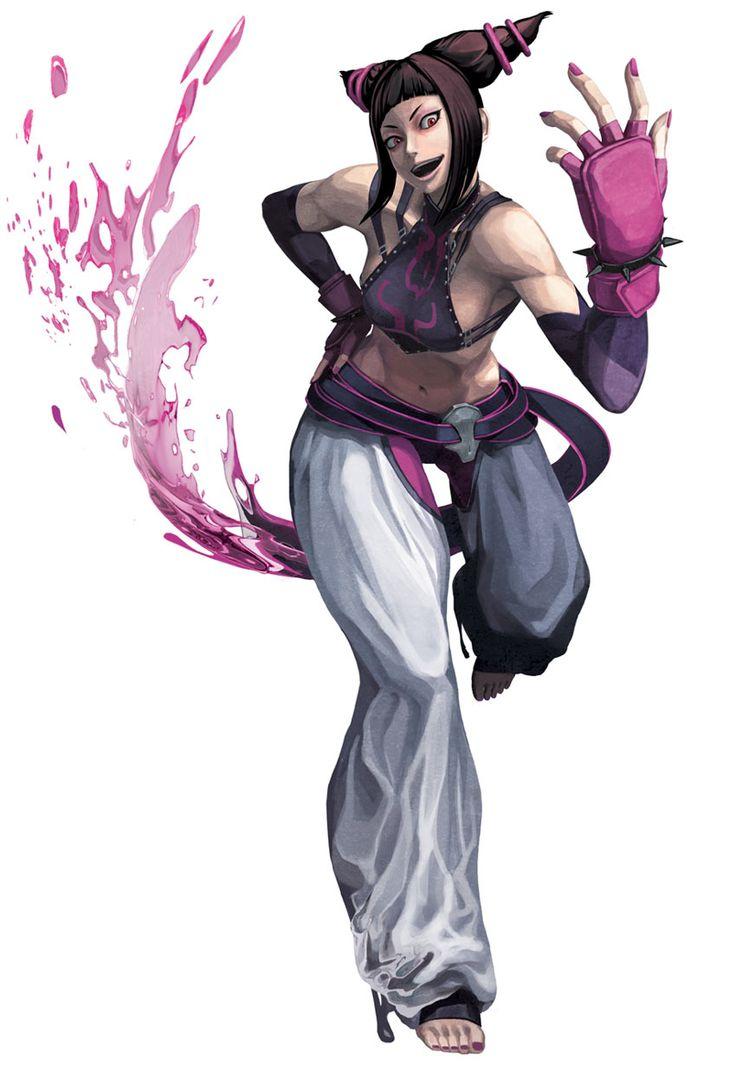 Juri from Street Fighter