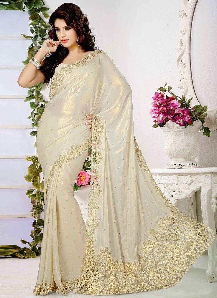 ravishing-look-shimmer-georgette-saree-  #Georgette #Sarees