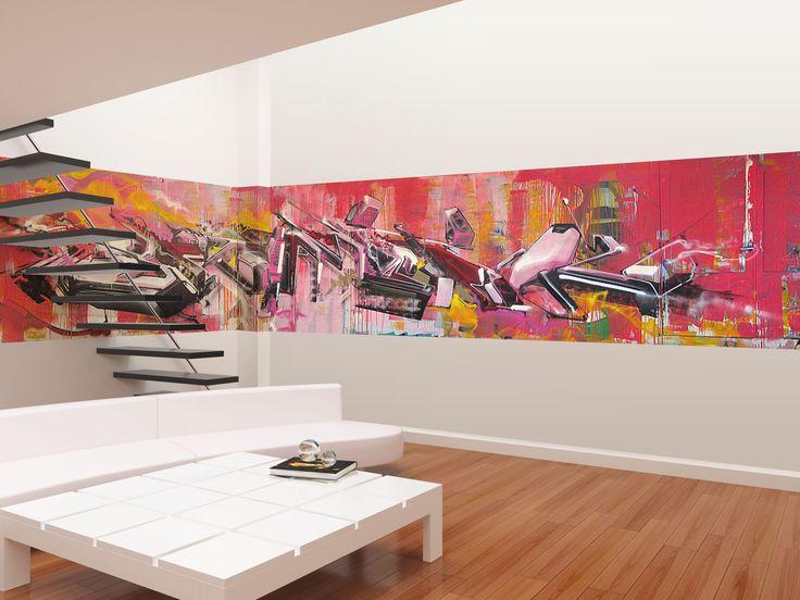 31 best Street Art X Interior Design V3RBO images on Pinterest