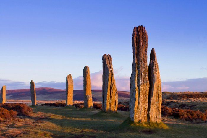 On the Scottish islands of Orkney there are several ancient monumental buildings that have forced historians to rethink their knowledge about ancient Britain.