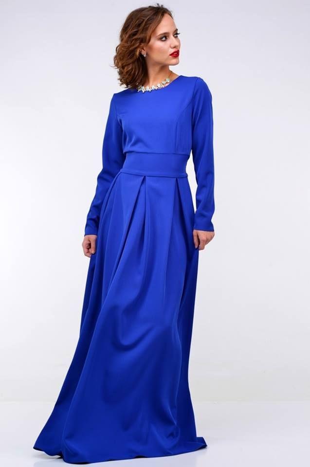Long blue dress - 74,63€