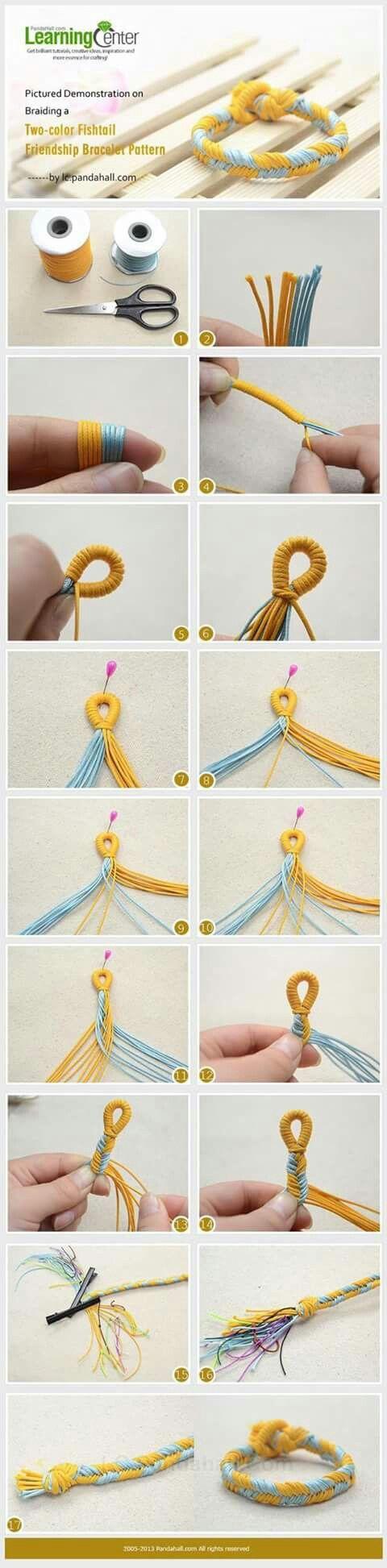 2 Color Fishtail- loop closure