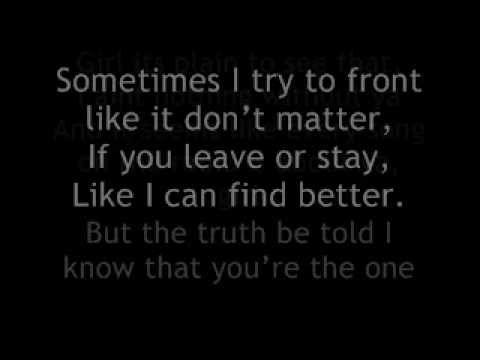 Ginuwine- My Last Chance (Lyrics) - YouTube