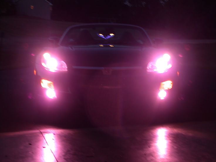 Pink-HID headlights need to get mine done in my truck
