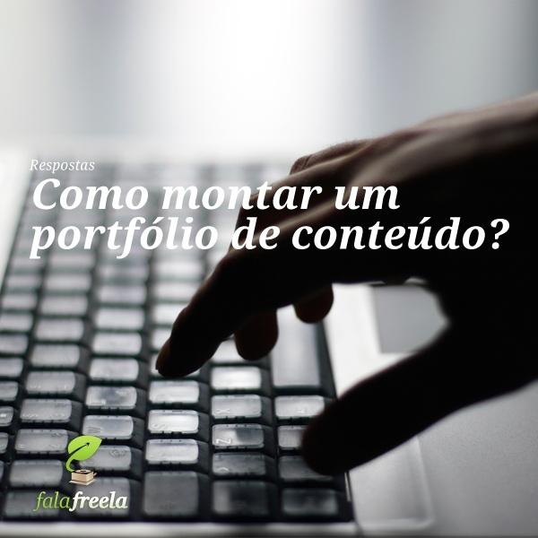 Do recorte de matéria ao link em PDF, algumas dicas para você ter um portfólio que funciona!    http://carreirasolo.org/respostas/como-montar-um-portfolio-de-conteudo