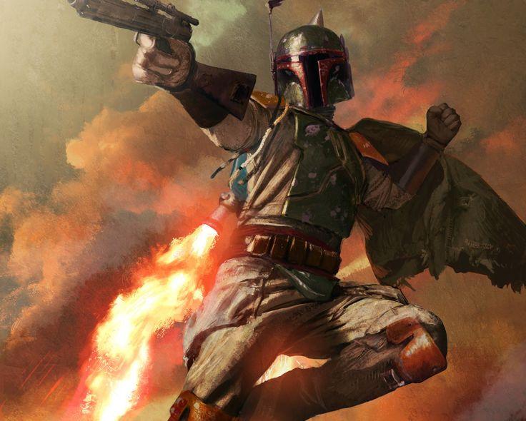«Veo por qué te llaman el mejor cazarrecompensas de la Galaxia.»      ―Darth Vader