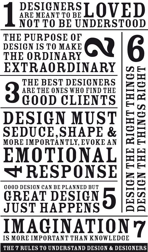 For the designers.