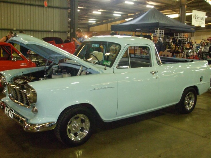 smattering of nicely done old Holden Utes (the original Aussie ute)