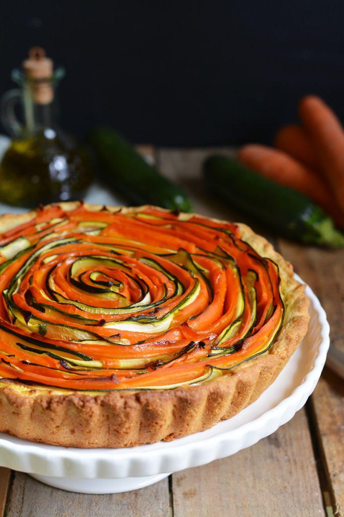Torta salata spirale con formaggi