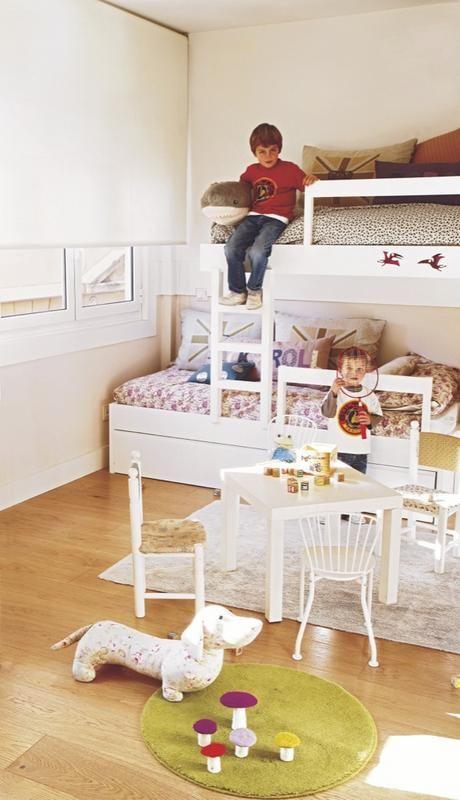 Habitación infantil para dos hermanos
