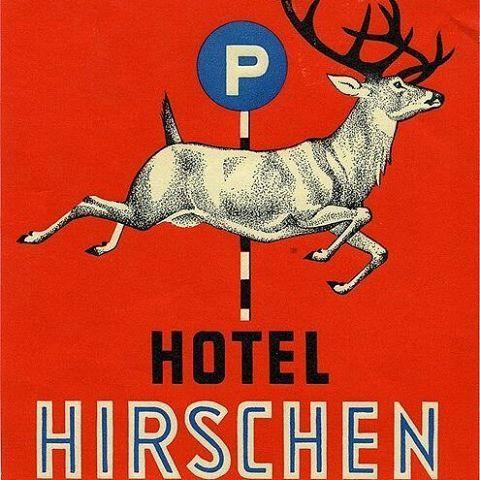 Exercice de Style — modernizor:   Hotel Hirschen Basel   vintage...