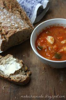 Make choco cake...: Kto lubi zupy? Pomidorowa z czerwoną soczewicą