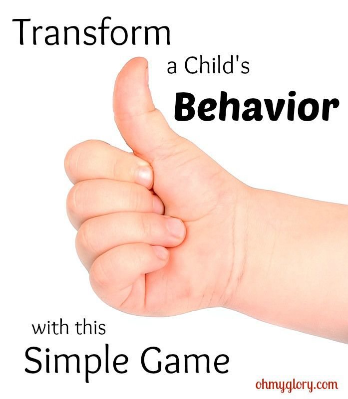 simple game for good behavior