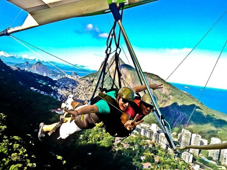 The Day Trading Academy goes to Brazil! This is us paragliding in Brazil