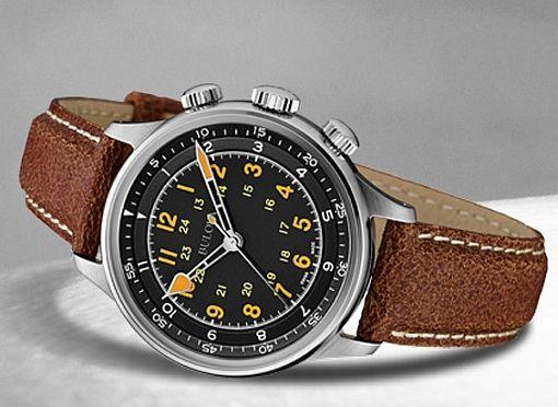 Bulova AccuSwiss Type A-15 Automatic pilot's wristwatch