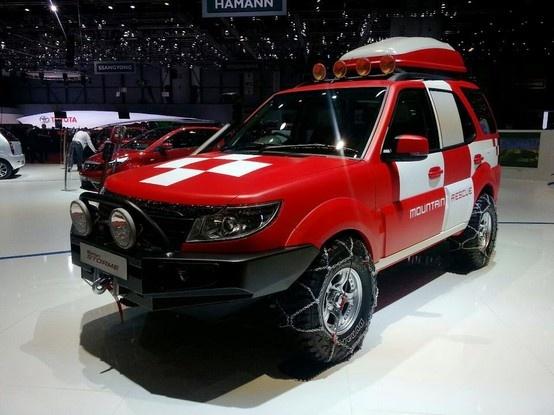 New 2014 Tata Safari Storme Mountain Rescue Concept Unveiled