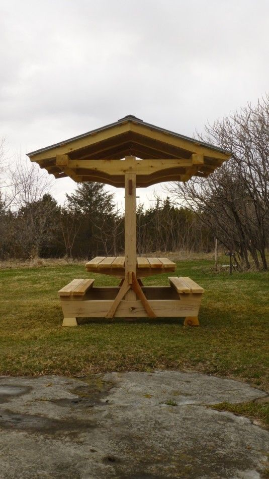 Picnic Shelter from the side