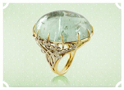 Кольцо «Озеро мечты» Tulupov Jewelry