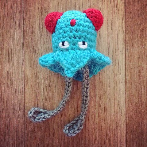 PokemonGo! CrochetGo! #072 Tentacool free crochet pattern | MyLittleCuteAmis - Amigurumi and crochet blog with free patternsMyLitt