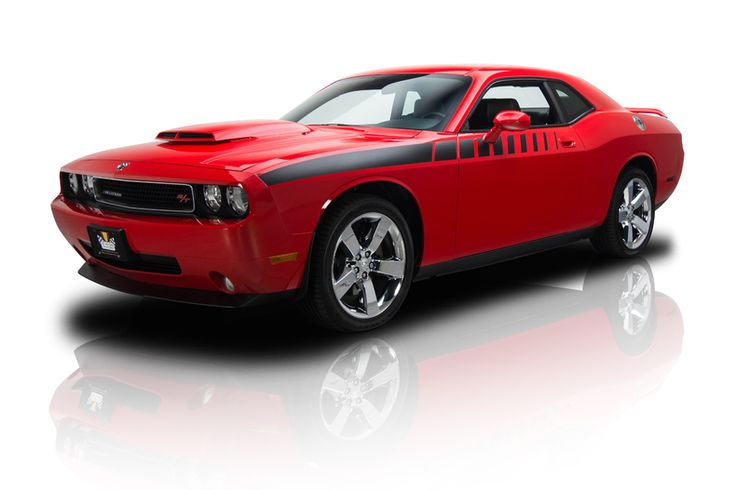 2010 Dodge Challenger R/T Red