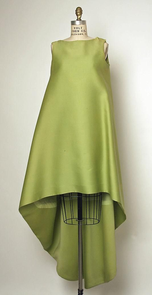 1967 France. Cristobal Balenciaga