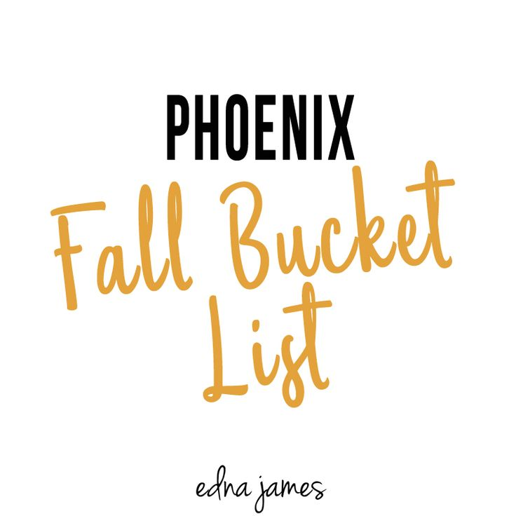 20 Things to do in Phoenix, Arizona in the Fall!
