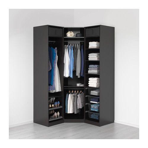 PAX Garderobekast - 146/146x60x236 cm - IKEA
