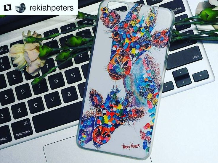 Tracey Keller's Giraffes iPhone Case!