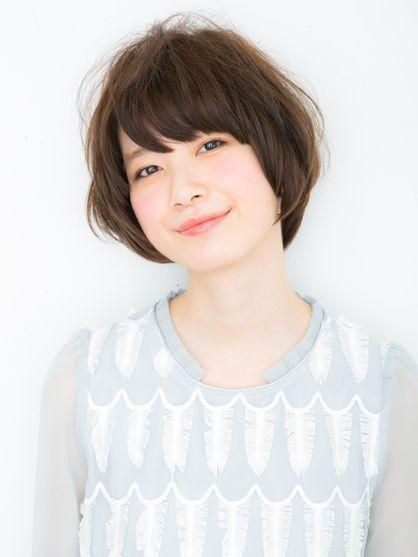 CHELSEAのヘアスタイル | 新型エアウェーブで作るカジュアルボブ! | 東京都・原宿の美容室 | Rasysa(らしさ)