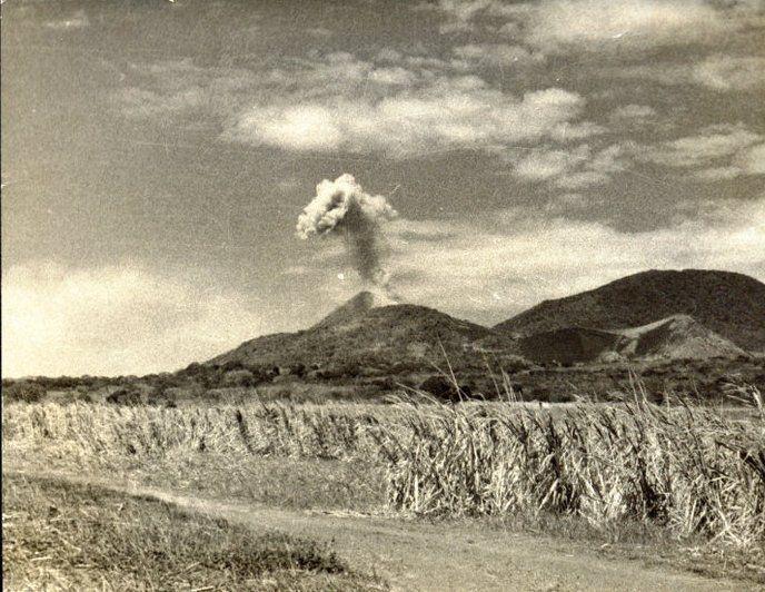 Image result for erupcion volcan izalco el salvador
