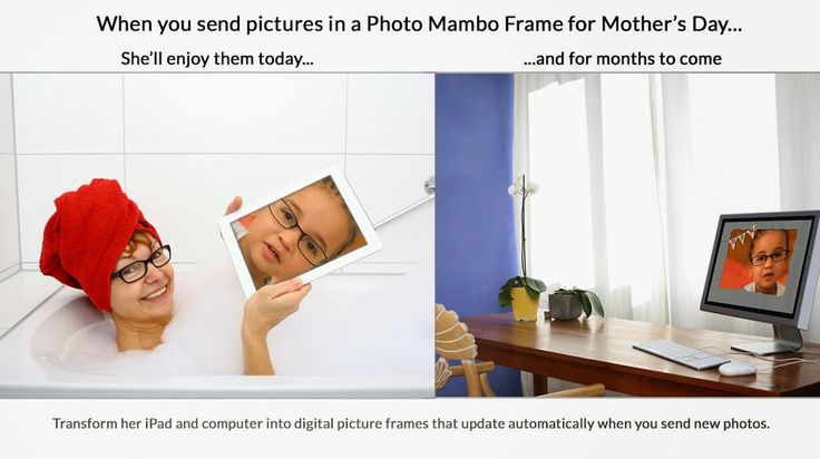Photo Mambo makes an easy and heart-felt gift for Mother's Day.