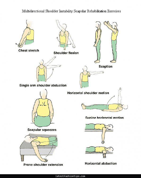 Exercises Shoulder Impingement Physical Therapy