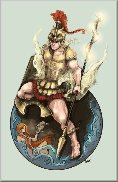 Ares, god of war | Mythology | Pinterest | Beautiful ...